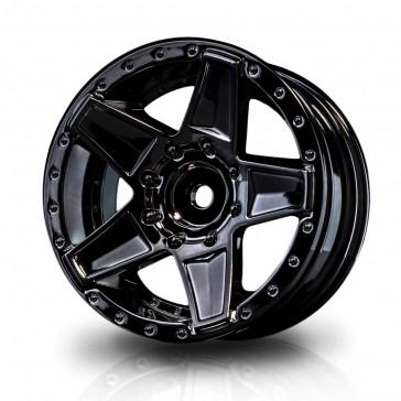 "Silver black 648 1.9"" wheel (+5) (4)"