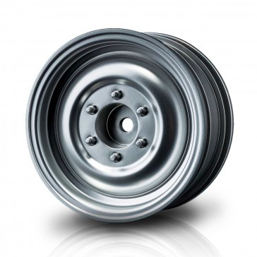 "Flat silver 60D 1.9"" crawler wheel (+5) (4)"