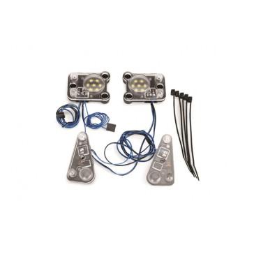 LED headlight/tail light kit (fits n°8011 body, req. n°8028 PS