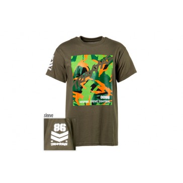 Military Tee T-shirt Military Green 3X