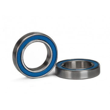 Ball bearing, blue rubber sealed (15x24x5mm) (2)