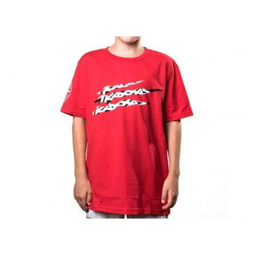 Slash Tee T-shirt Red Youth M