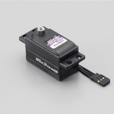 BSx3 One 10 Response Servo - Low profile