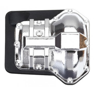 Differential cover, front or rear (chrome plated)