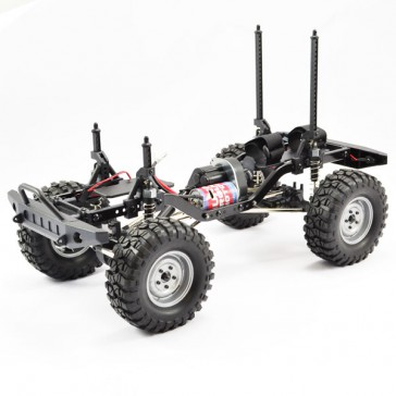 OUTBACK 2 ROLLING CHASSIS 1:10 CRAWLER W/TREKA CLEAR
