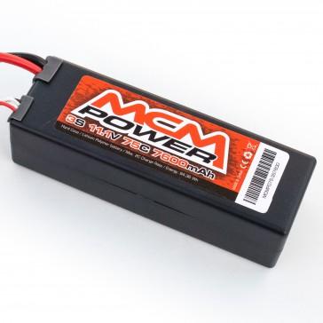 Hard case 75C 7600mAh 3S 11,1V (EC5)