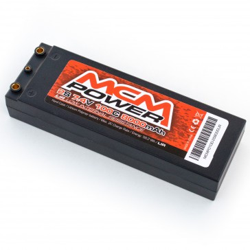 Hard case 100C 8000mha 2S 7,4V LIR (Low Internal Resistance)