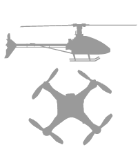 Helis & drones