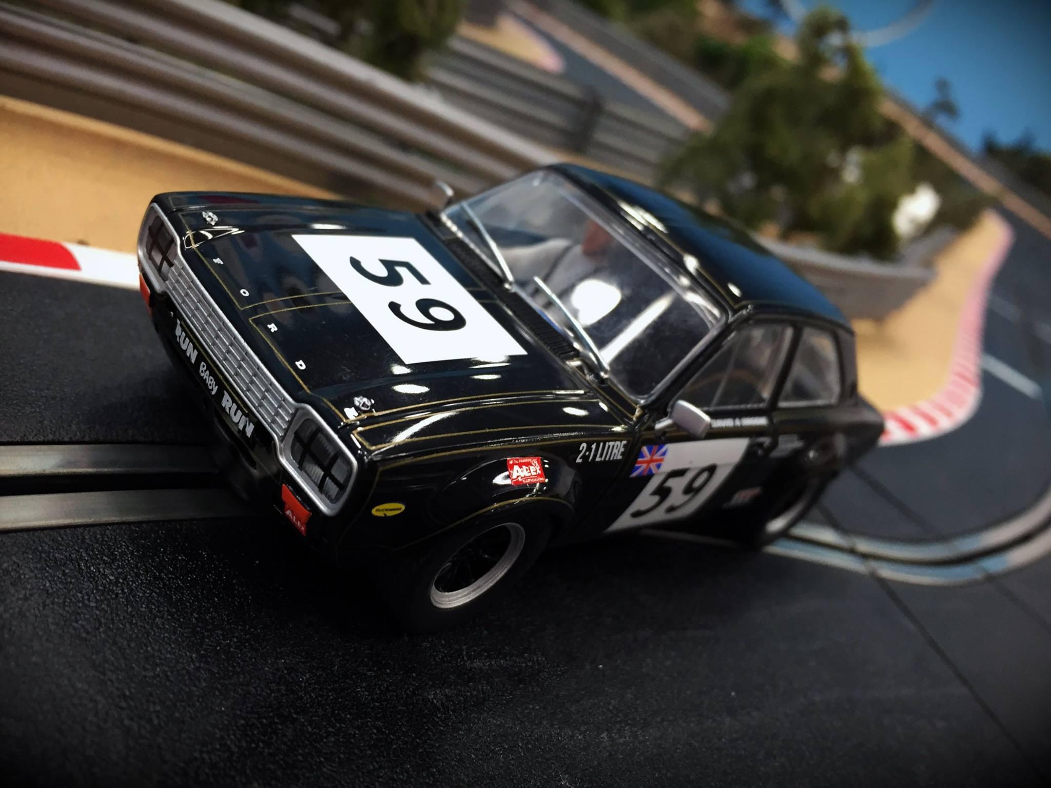 Nouveaut Scalextrix Ford Escort Mk1