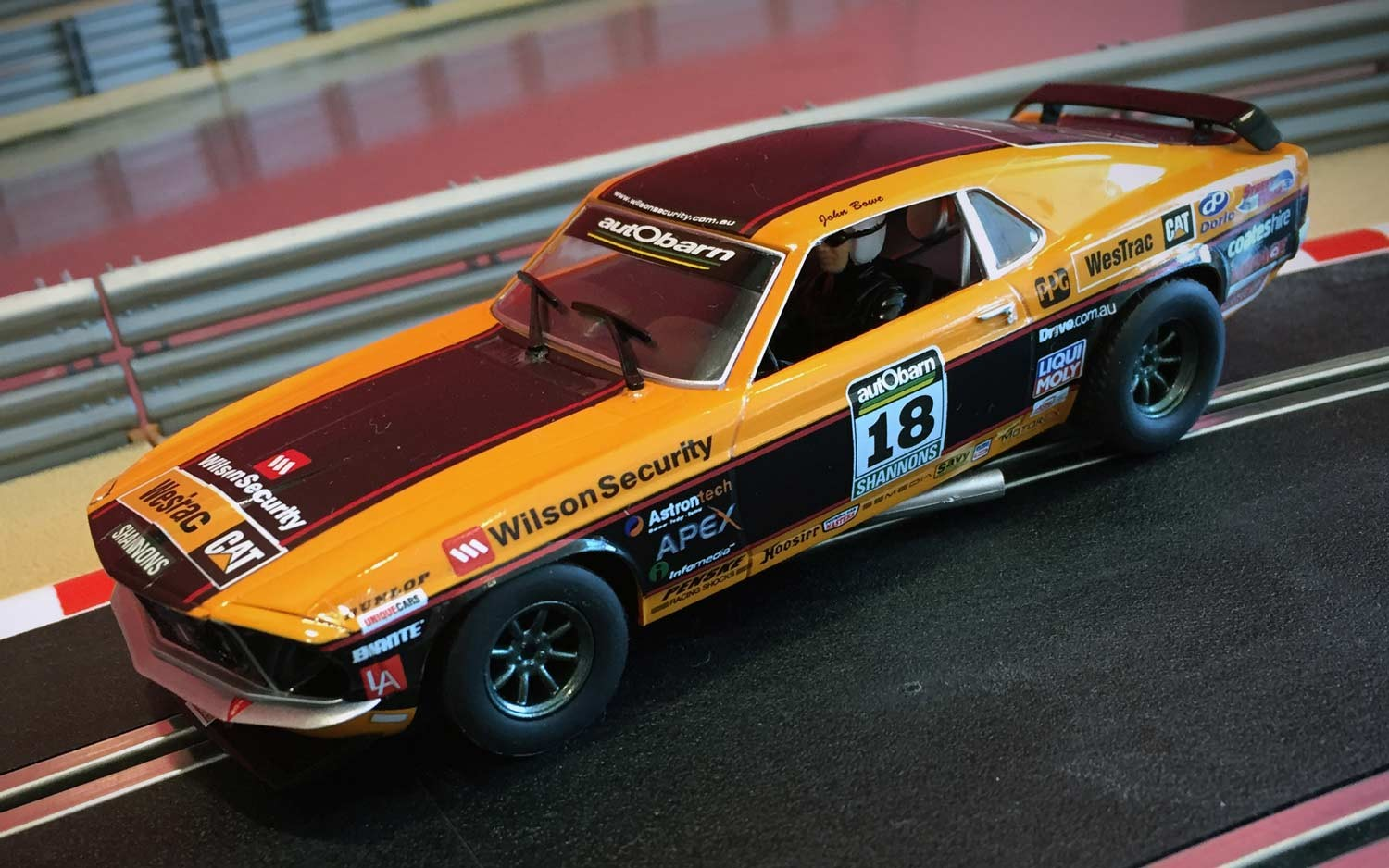 Scalextric New Product Ford Mustang Boss 302 1969 Mcm