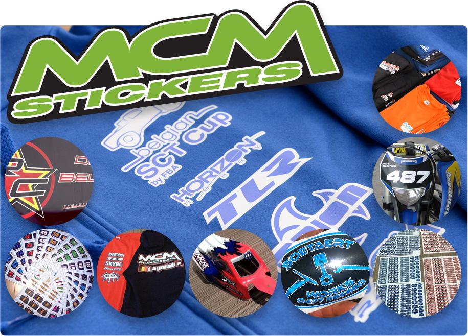 mcm stickers