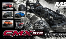 New MST Product : CMX 1/10 RTR Crawler