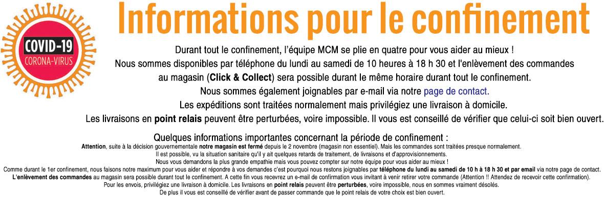 MCM INFO - Informations Confinement