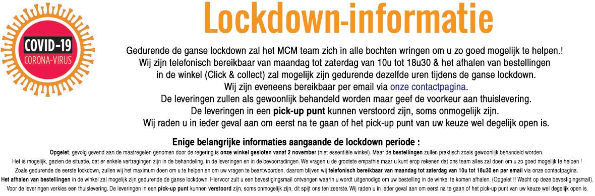 MCM INFO - Breakdoown informations