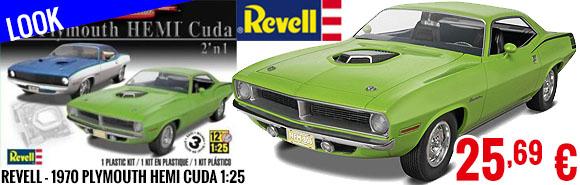 Look - Revell - 1970 Plymouth Hemi Cuda 1:25