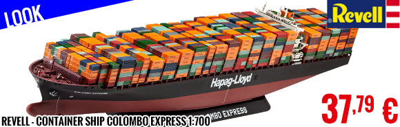 Look - Revell - Container Ship Colombo Express 1:700