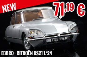 New - Ebbro - Citroën DS21 1/24