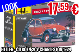 Look - Heller - Citroën 2CV Charleston 1/24
