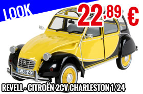 Look - Revell - Citroën 2CV Charleston 1/24
