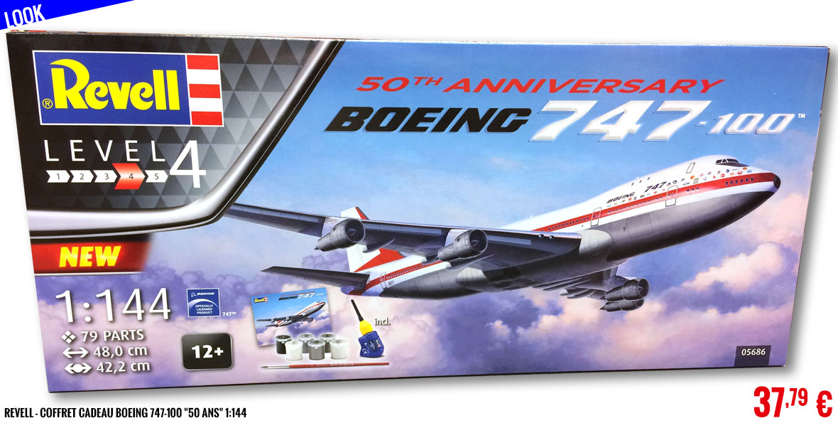 Look - Revell - CGift Box Boeing 747-100