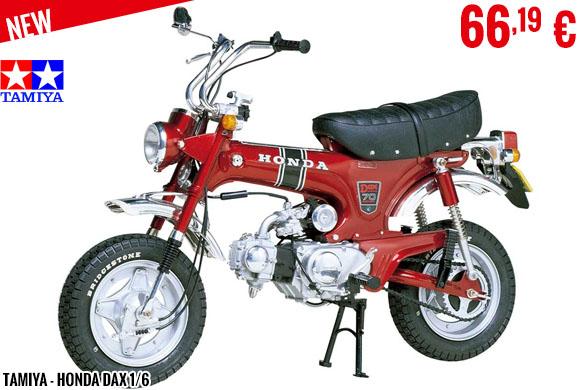 New - Tamiya - Honda Dax 1/6