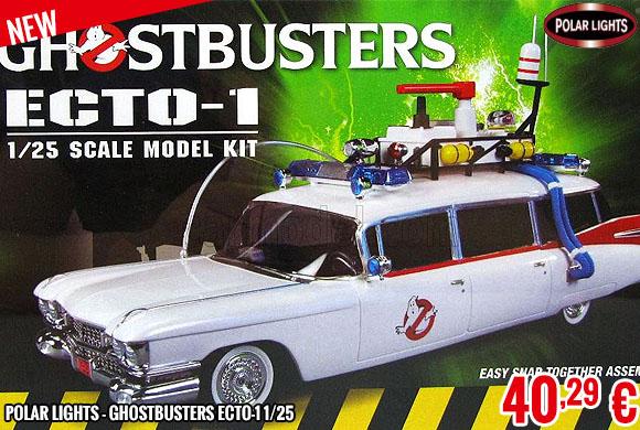 New - Polar Lights - Ghostbusters Ecto-1 1/25