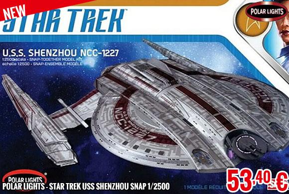 New - Polar Lights - Star Trek USS Shenzhou SNAP 1/2500
