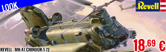 New - Revell - MH-47 Chinook 1:72