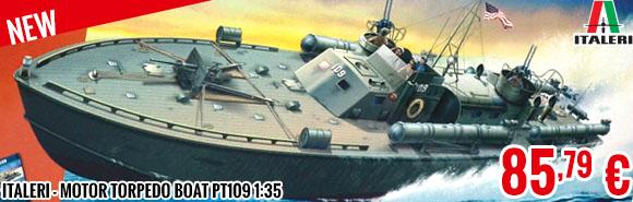 New - Italeri - Motor Torpedo Boat PT109 1:35