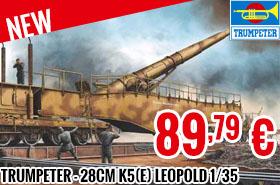 New - Trumpeter - 28cm K5(E) Leopold 1/35