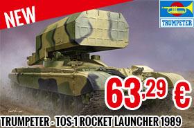 New - Trumpeter - TOS-1 Mult. Rocket Launcher 1989 1/35
