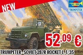 New - Trumpeter - Soviet 2B7R Multiple Rocket L. 1/35