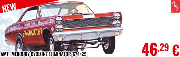 New - AMT - Mercury Cyclone Eliminator '67 1/25