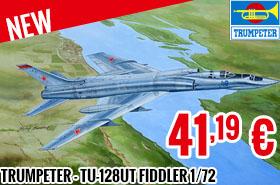 New - Trumpeter - Tu-128UT Fiddler 1/72