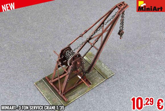 New - MiniArt - 3 Ton Service Crane 1/35