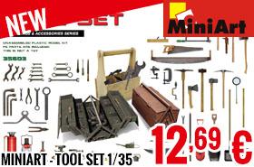 New - MiniArt - Tool Set 1/35