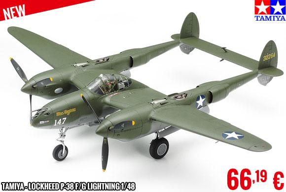 New - Tamiya - Lockheed P-38 F/G Lightning 1/48