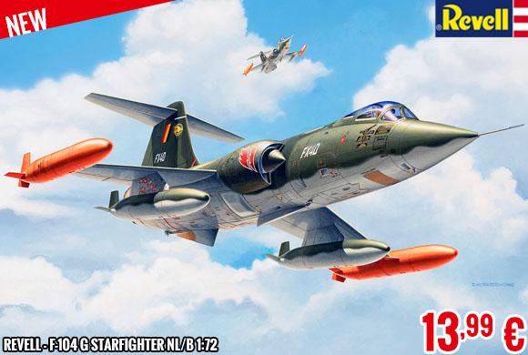 New - Revell - F-104 G Starfighter NL/B 1:72