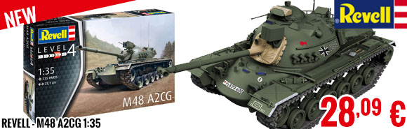 New - Revell - M48 A2CG 1:35