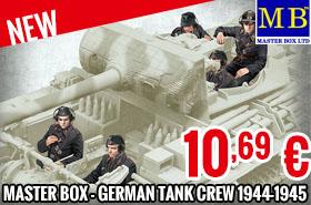 New - Master Box - German Tank Crew 1944-1945 1/35