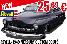 New - Revell - 1949 Mercury Custom Coupé 3'n 1 1:25