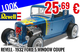 Look - Revell - 1932 Ford 5 Window Coupe 1:25