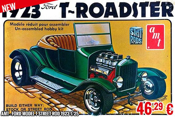 New - AMT - Ford Model T Street Rod 1923 1/25