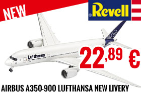 New - Revell - Airbus A350-900 Lufthansa New Livery 1/144