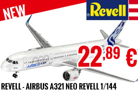 New - Revell - Airbus A321 Neo Revell 1/144
