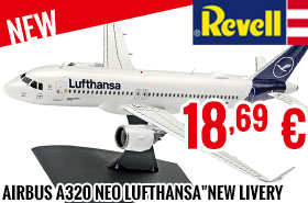 New - Revell - Airbus A320 neo Lufthansa