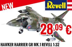 New - Revell - Hawker Harrier GR Mk.1 Revell 1:32