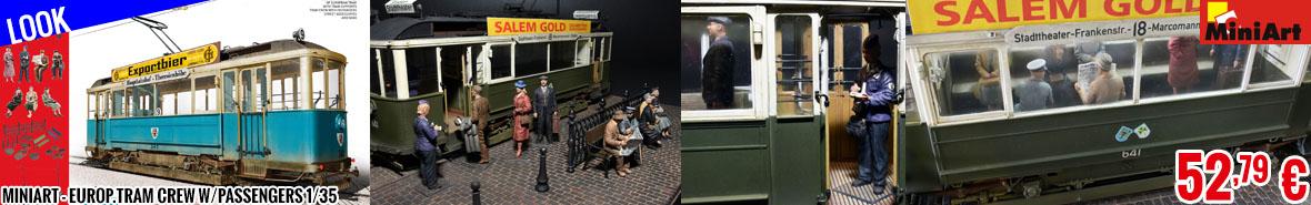 Look - MiniArt - Europ.Tram Crew w/Passengers 1/35