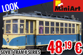 Look - MiniArt - Soviet Tram X-Series Early Type 1/35