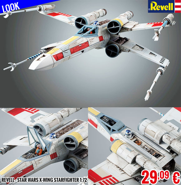 Look - Revell - Star Wars X-Wing Starfighter 1:72